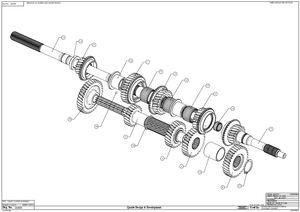 Quaife Mazda MX5 Synchromesh Gearkit for MX5
