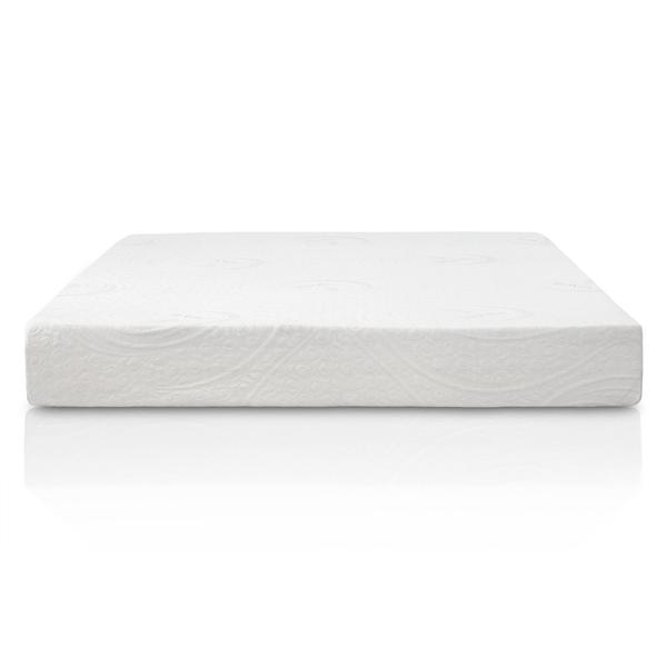 Eluxurysupply 8 Inch Gel Memory Foam Mattress Swirl