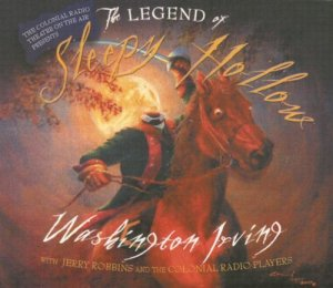 The Legend of Sleepy Hollow Audiobook Cover Washington Irving