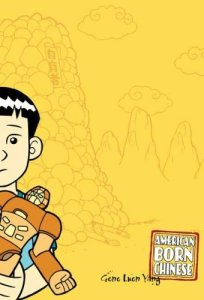 American Born Chinese, Book Cover, Gene Luen Yang, Yellow