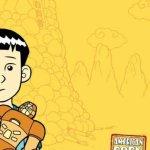 American Born Chinese, Book Cover, Gene Luen Yang, Yellow