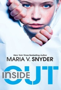 Inside Out, Maria V Snyder, Book Cover