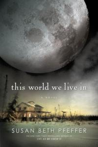 This World We Live In, Susan Beth Pfeffer, Last Survivors series, Book Cover, Moon