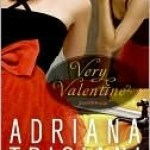 Very Valentine, Adriana Trigiani, Book Cover, red dress, mirror, lipstick