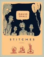 Stitches A memoir, David Small, Book Cover,