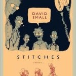 Stitches A memoir, David Small, Book Cover,