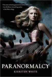Paranormalcy by Kiersten White Book Cover