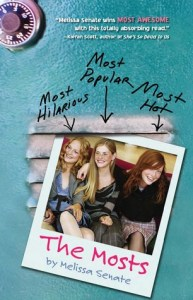 The Mosts, Melissa Senate, Book Cover