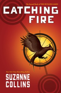 Catching Fire Cover Suzanne Collins Book Hunger Games Sequel
