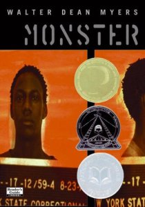 Monster Walter Dean Myers Book Cover