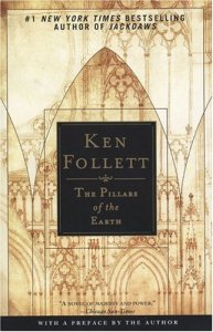 The Pillars of the Earth, Ken Follett, Book Cover