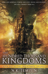 The Hundred Thousand Kingdoms, NK Jemisin, Book Cover