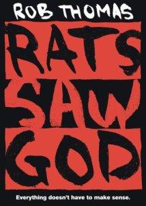 Rats Saw God, Rob thomas, Book cover