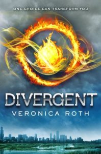 Divergent, Veronica Roth, Book Cover