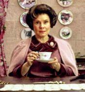 Dolores Umbridge, Professor, Evil, Pink, Tea