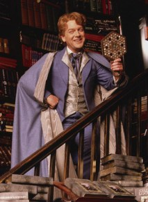 Gilderoy Lockhart, mirrors, self absorbed, books