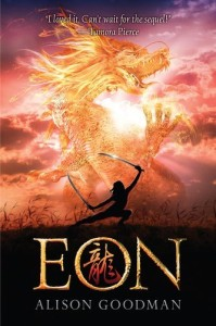 Eon: Dragoneye Reborn, Alison Goodman, Two Pearls Of Wisdom, paperback cover,