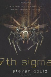 7th Sigma by Steven Gould Book Cover