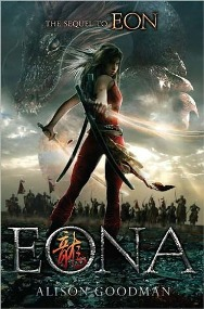Eona by Alison Goodman Book Cover