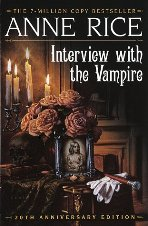 Interview With The Vampire by Anne Rice Book Cover
