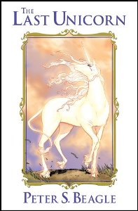 The Last Unicorn by Peter S. Beagle graphic novel cover