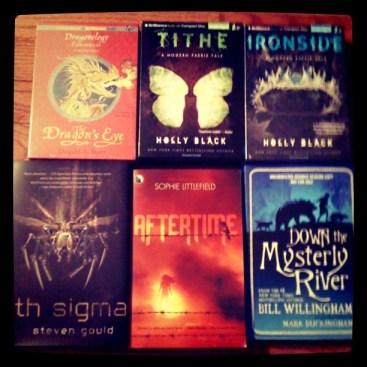 In My Mailbox, instagram photo of books