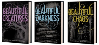 All of the Beautiful Creatures book covers, Kami Garcia, Margaret Stohl
