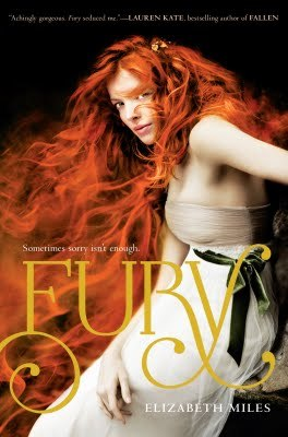 Fury by Elizabeth Miles Book Cover