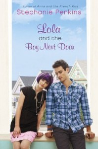 Lola And The Boy Next Door by Stephanie Perkins Book Cover