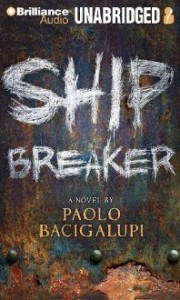 Ship Breaker, Paolo Bacigalupi, Book Cover