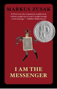 I Am The Messenger, Markus Zusak, Book Cover, Card, Prinz Award