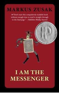 I Am The Messenger, Markus Zusak, Book Cover, Card, Prinz Award
