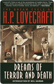 Dreams Of Terror And Death, HP Lovecraft, Book Cover