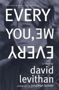 Every You Every Me, David Levithan,Book Cover, Emo Kid, Blue, White