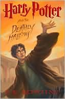 Harry Potter And The Deathly Hallows, Book cover, JK Rowling, Orange, Wizard,