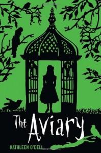 The Aviary, Green, Birds, Girl, Kathleen O'Dell, Book Cover