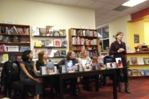 Stages on Pages, authors, book event, Oblong Books