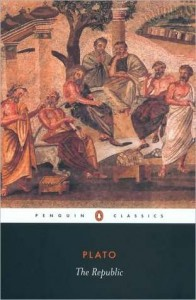 The Republic, Plato, Book Cover