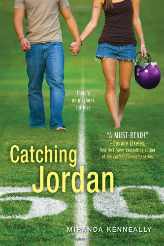 Catching Jordan, Miranda Kenneally, Book Cover, football
