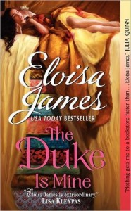 The Duke Is Mine, Eloisa James, Book Cover