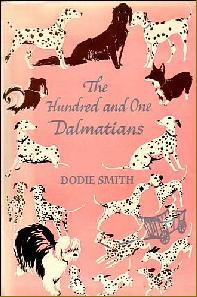 The 101 Dalmatians, Book Cover, Dodie Smith, Pink