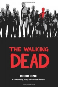 The Walking Dead, Book One, Robert Kirkman, Book Cover
