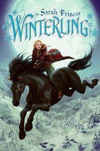 Winterling, Sarah Prineas, Book Cover, Black Horse, Girl