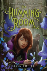 The Humming Room Ellen Potter Book Cover