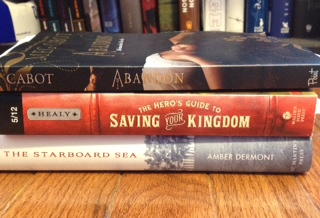 Small stack of in my mailbox books