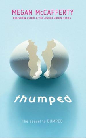 Thumped Megan McCafferty Book Cover