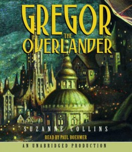 Gregor The Overlander Suzanne Collins Audiobook Cover
