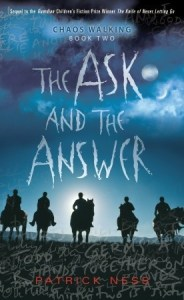 The Ask And The Answer Patrick Ness Book Cover
