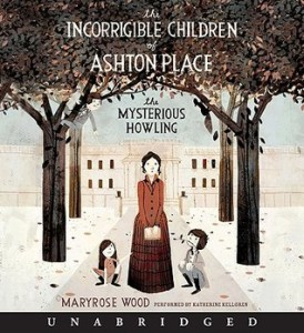 The Mysterious Howling Maryrose Wood Audiobook Cover
