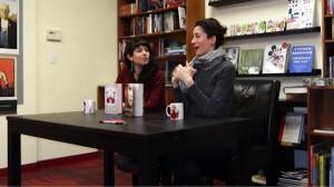 Lauren Oliver And Kate Ellison at Oblong Books